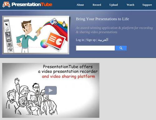 PresentationTube, herramienta para grabar videopresentaciones